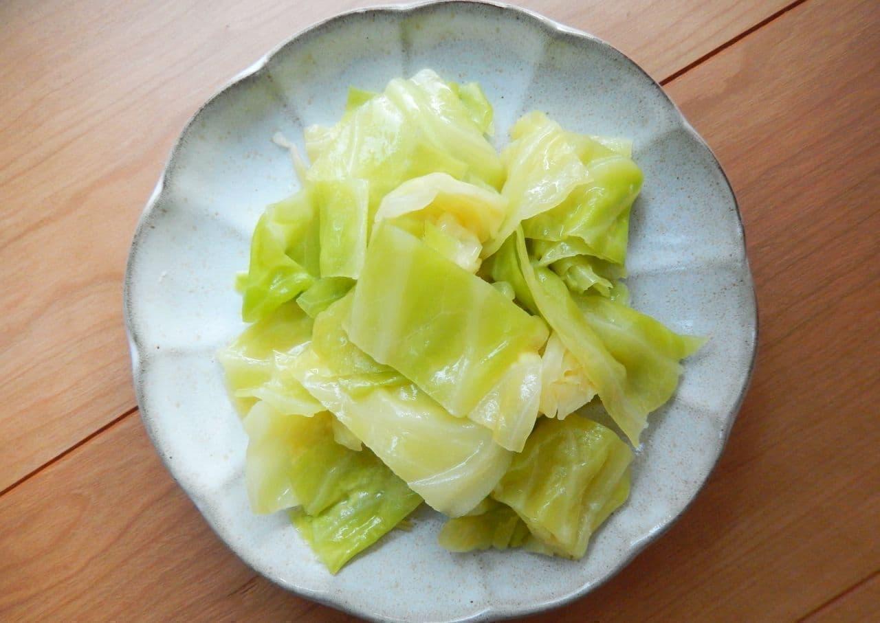 「キャベツのナムル」の簡単レシピ