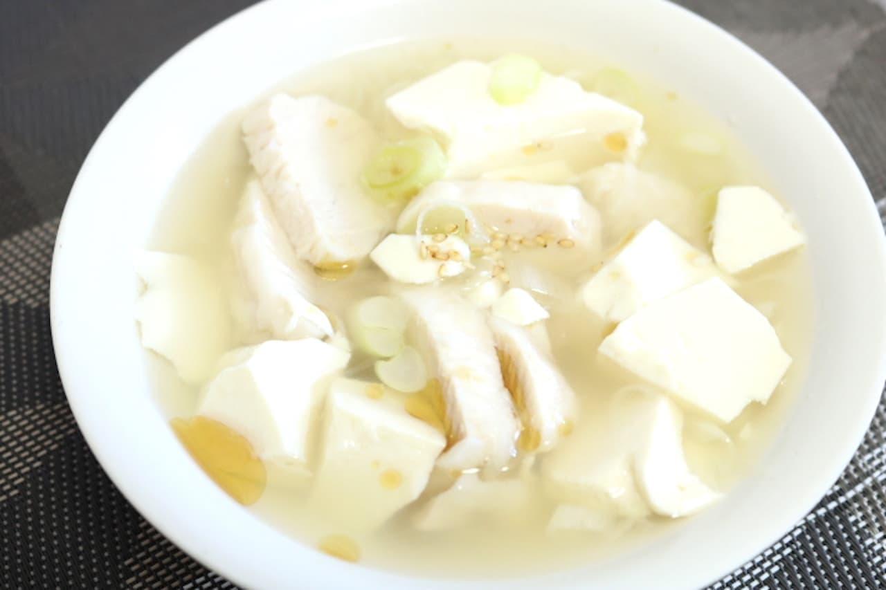 レシピ「サラダチキンサムゲタン」