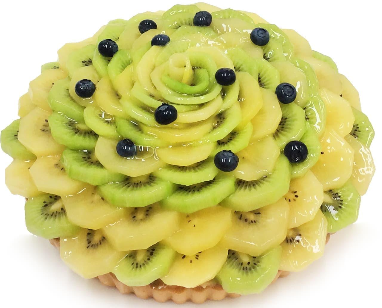 カフェコムサ に「キウイの日」限定ケーキ