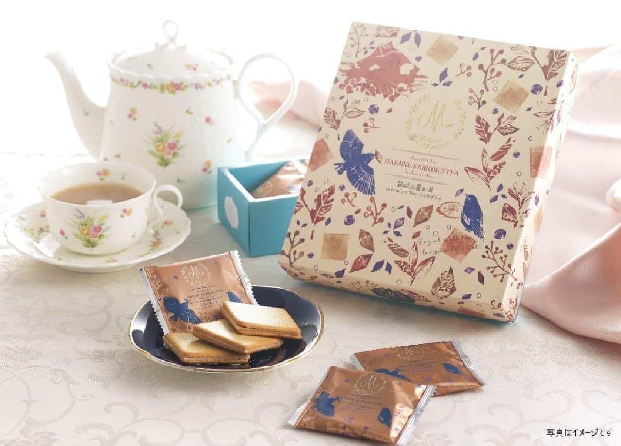 「箱根山麓紅茶」を使ったスイーツブランド「MON・THENOIR(モン・テノア)」