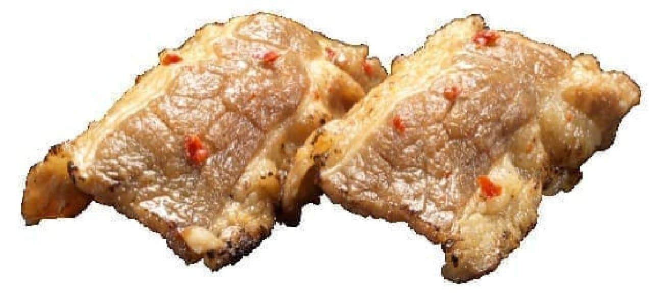 かっぱ寿司「牛カルビにぎり」