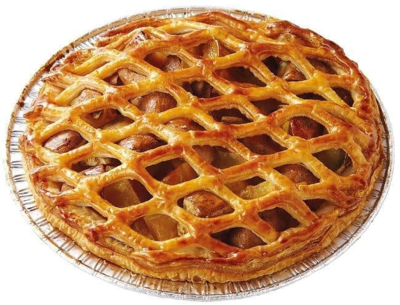 クイーンズベーカリーの「種子島産安納芋とりんごのパイ」