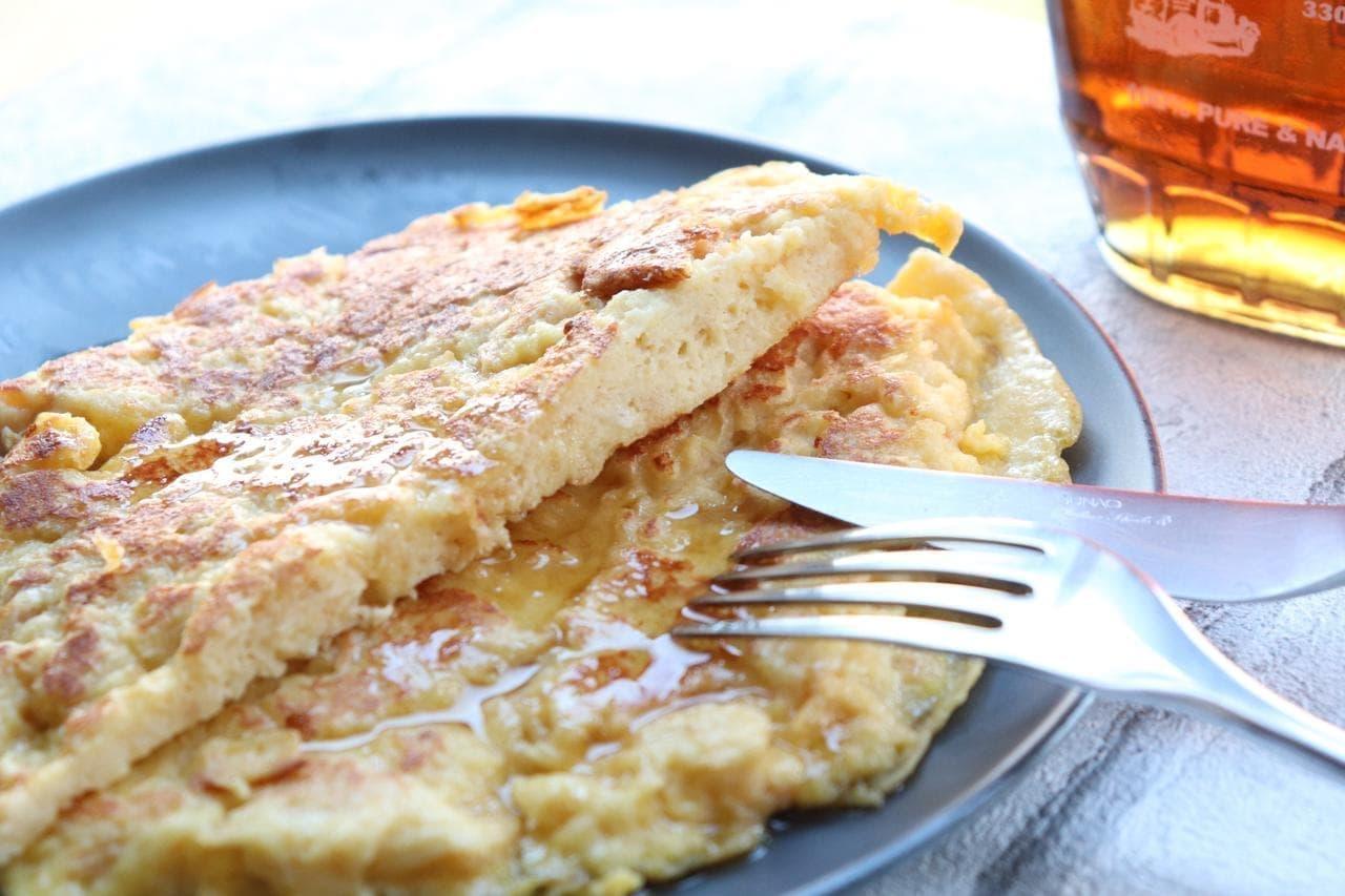 パン粉フレンチトースト