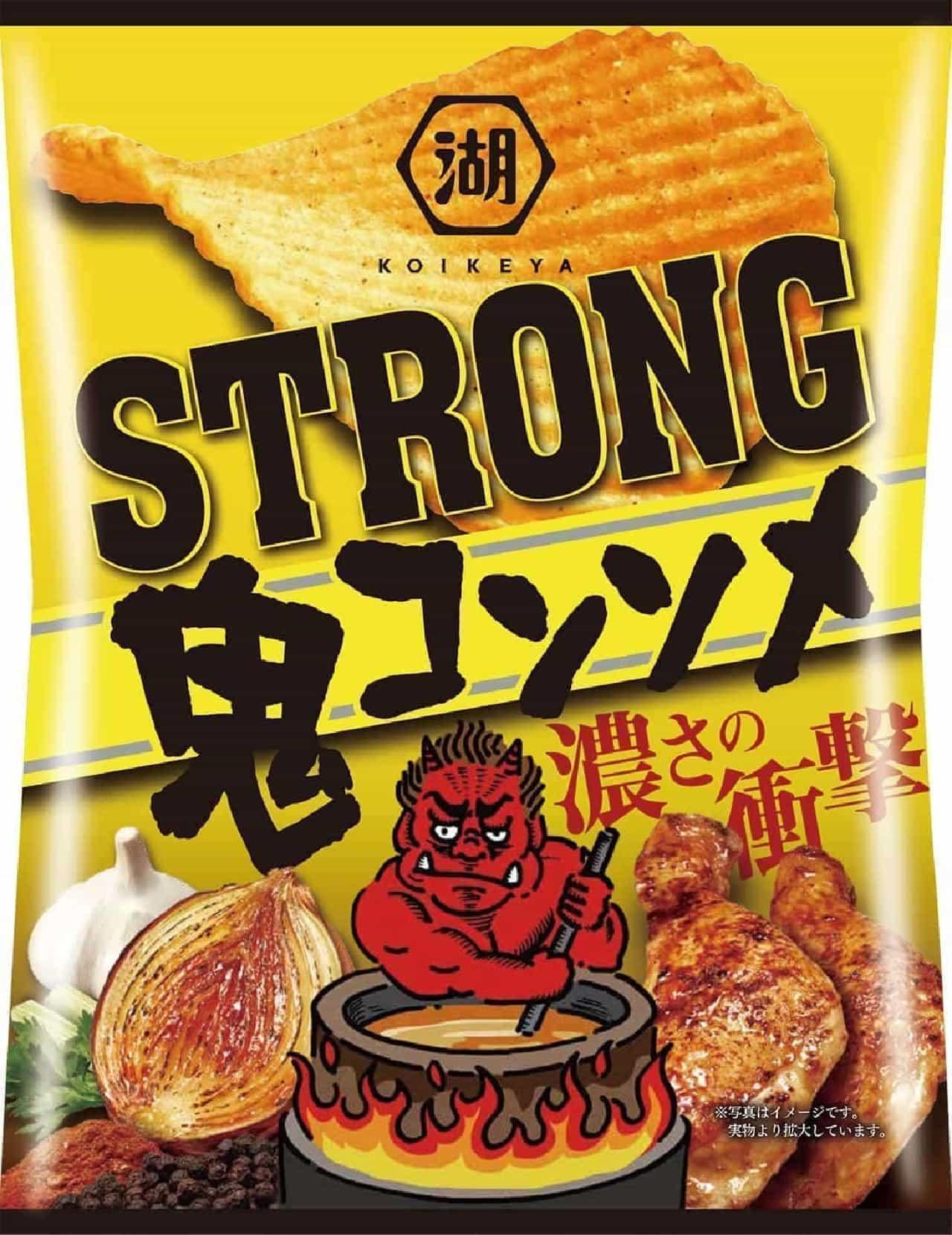 KOIKEYA STRONG ポテトチップス 鬼コンソメ