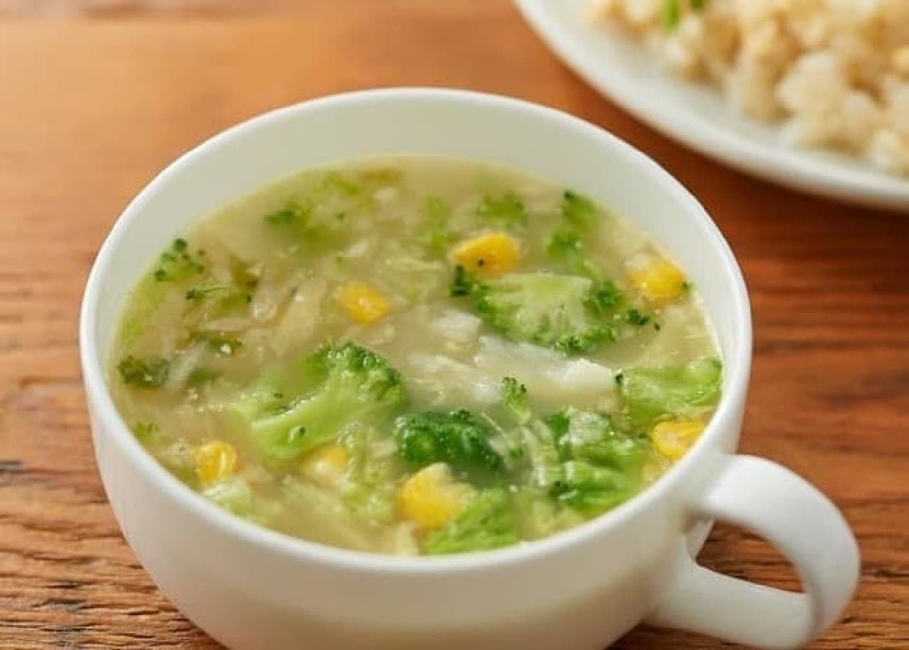 無印良品の「食べるスープ 4種野菜のみそクリームスープ」