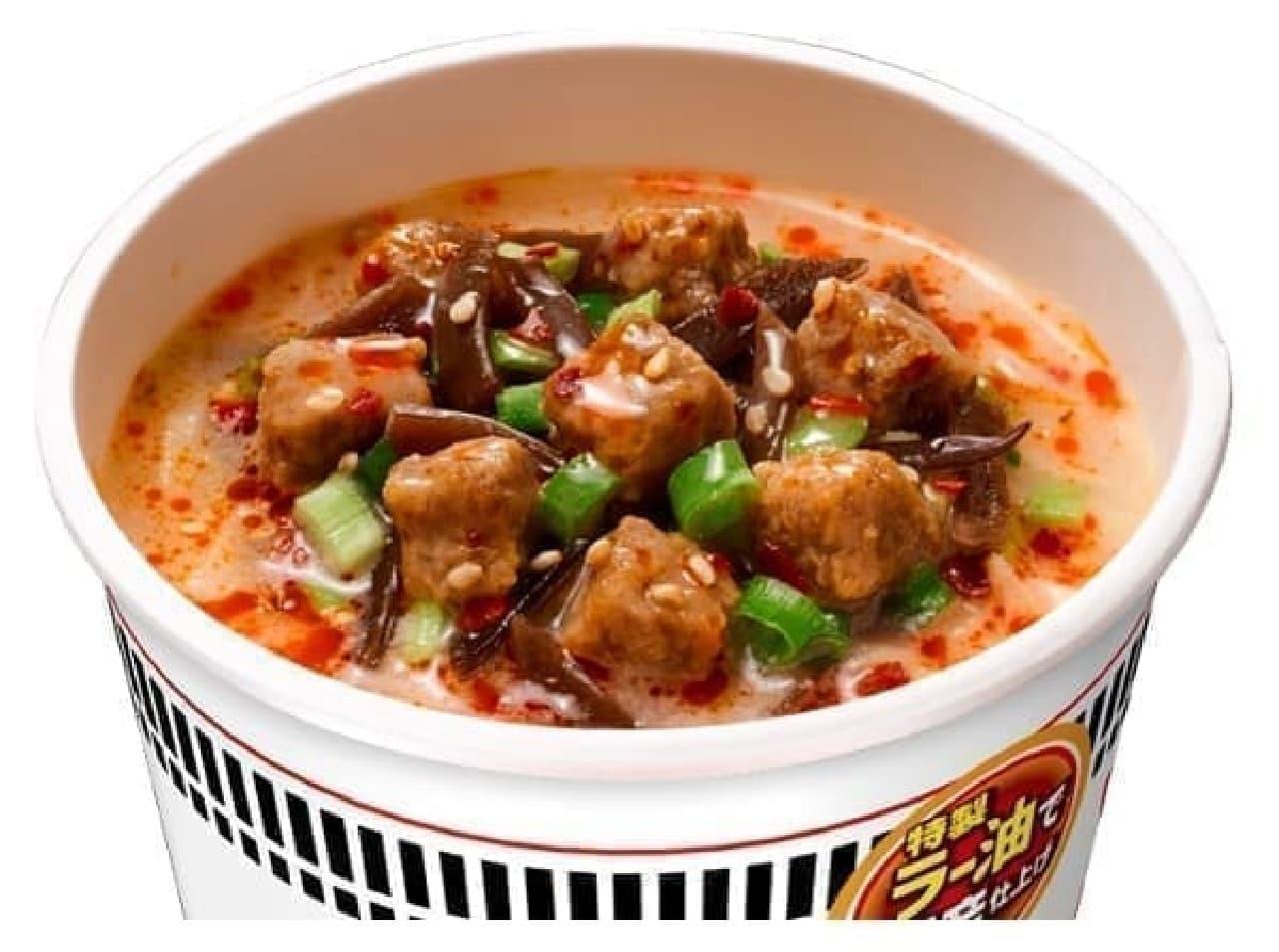 日清食品「カップヌードル 旨辛豚骨」