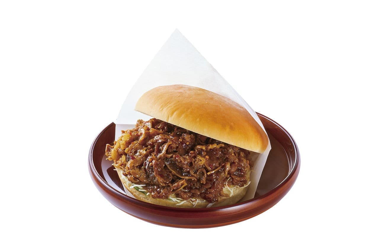 コメダ珈琲店にカルビ肉のバーガー「コメ牛」