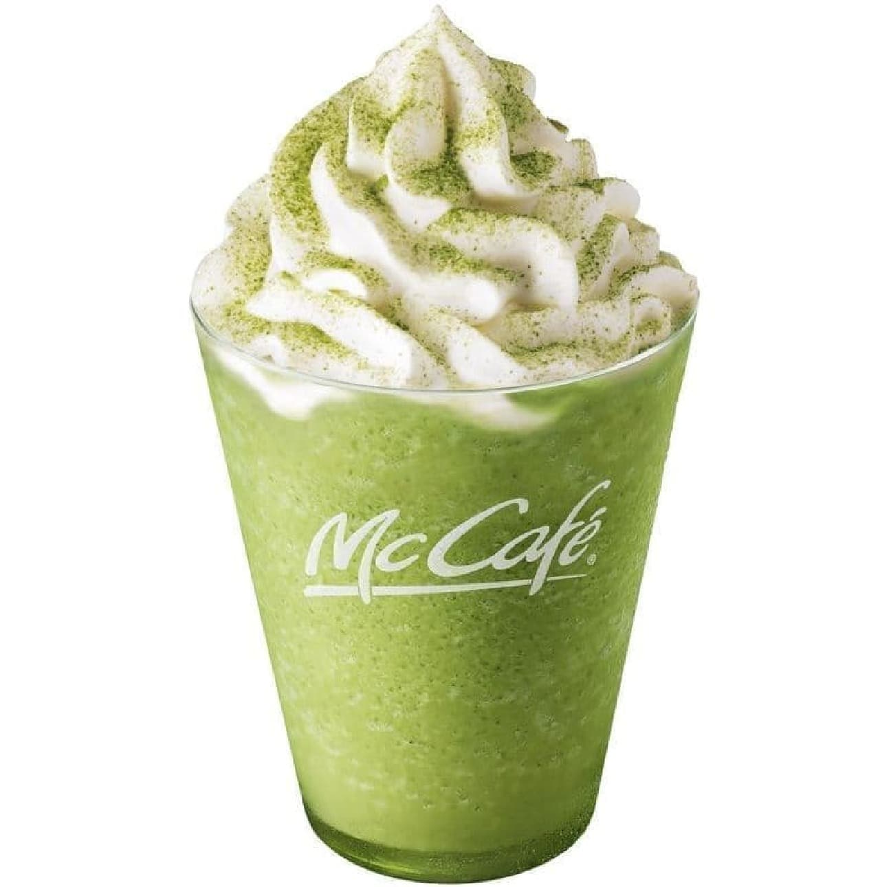 マックカフェに「ほうじ茶フラッペ」「抹茶フラッペ」