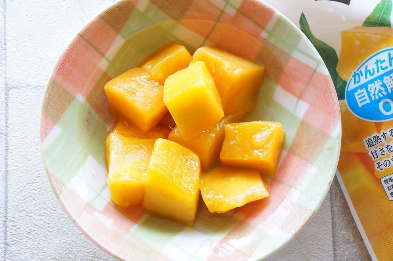 トップバリュ「ベトナム産 カッチュー種使用 マンゴー」