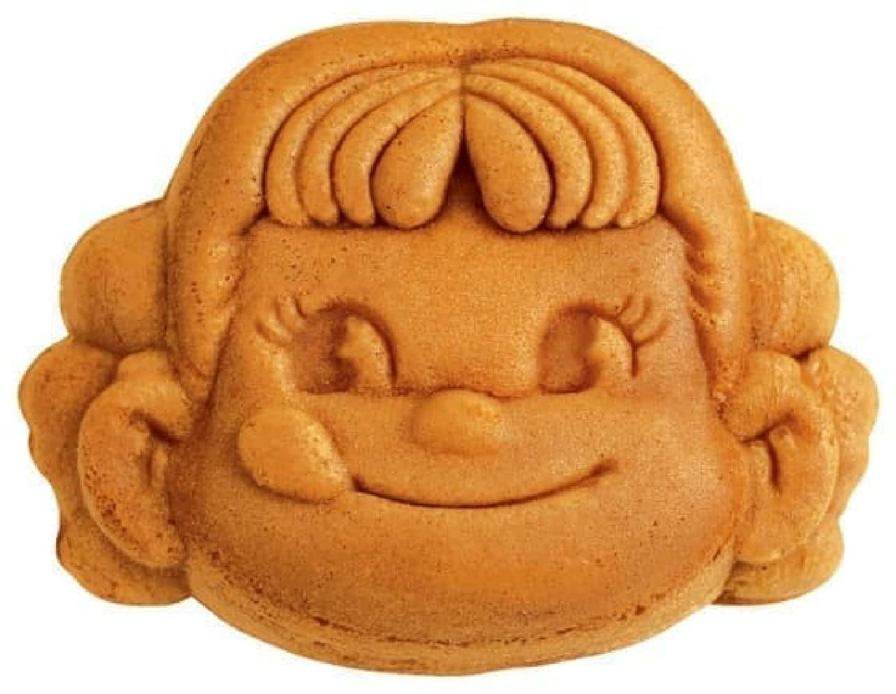 西洋菓子舗 不二家 銀座三越店限定の「ペコちゃん人形焼」