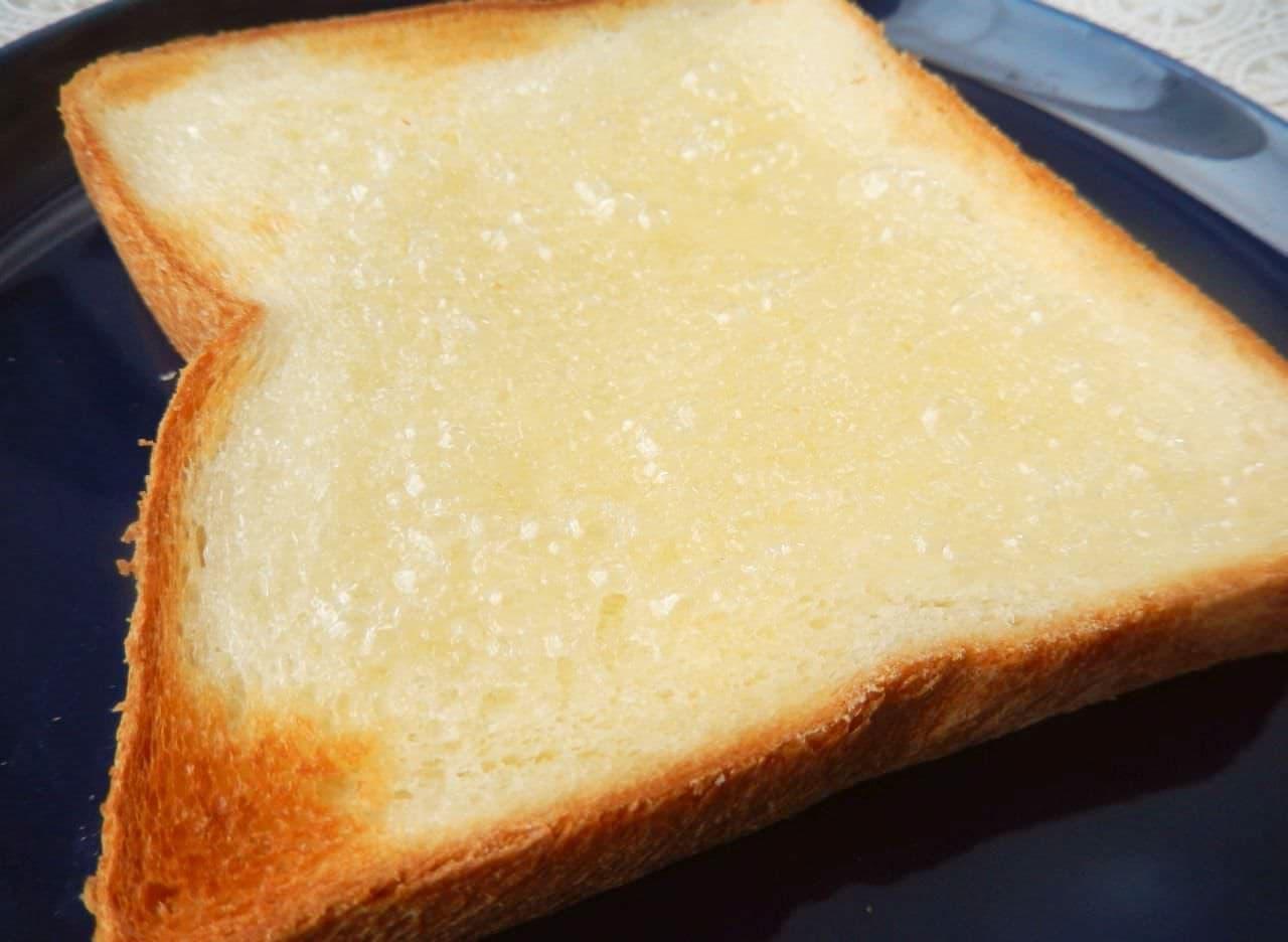 レシピ「水あめトースト」