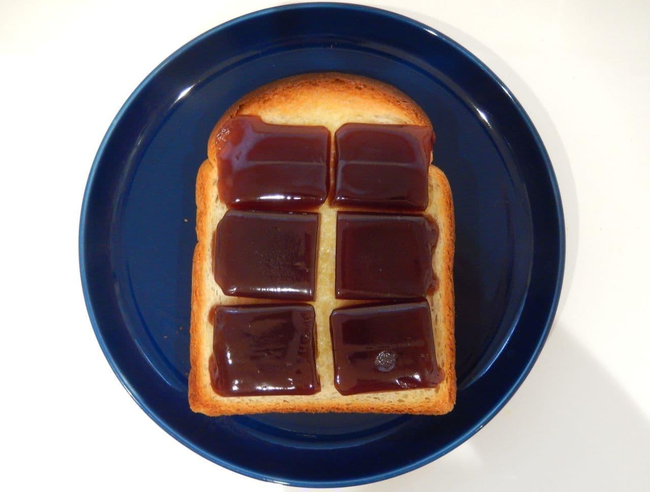 レシピ「羊かんバタートースト」