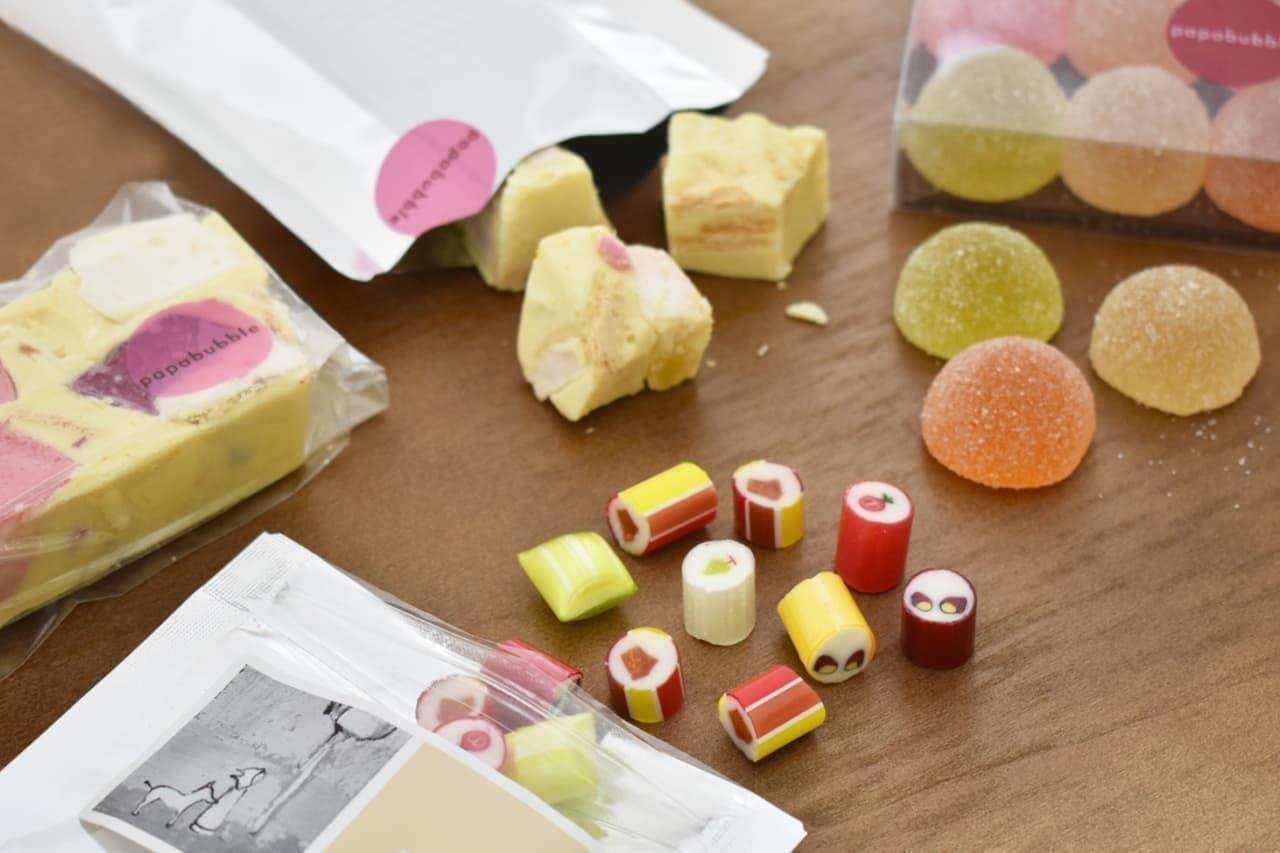 パパブブレに秋の味覚楽しむキャンディ&グミ