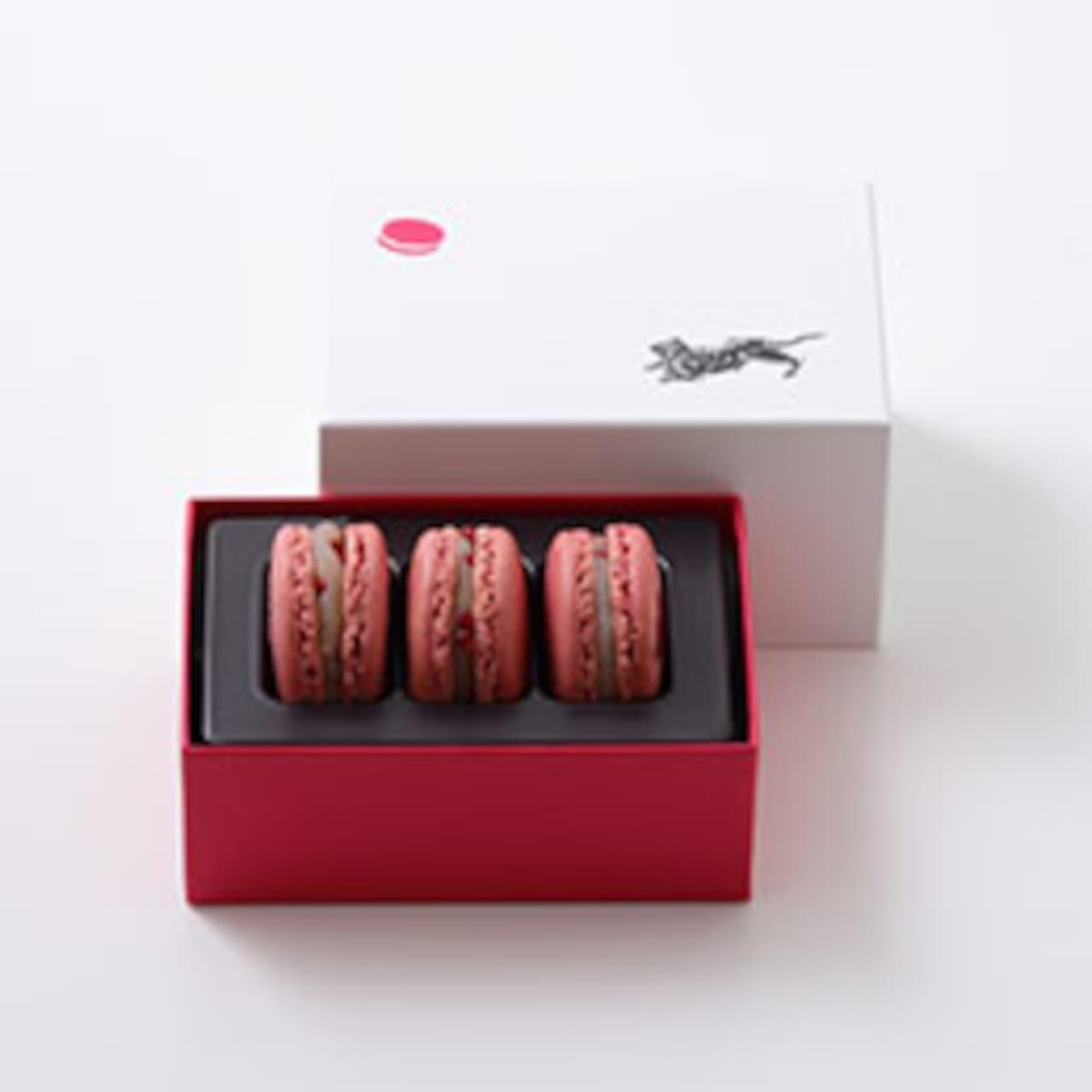 ピエール・エルメととらやのコラボレーション菓子