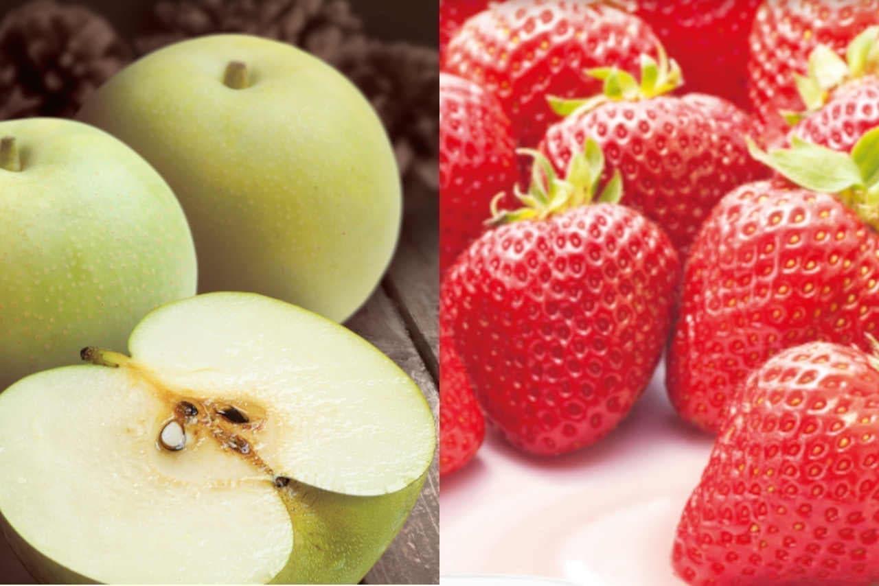 JRエキナカ「ハニーズバー」に「特選 二十世紀梨」と「贅沢デザート 苺ミルク」