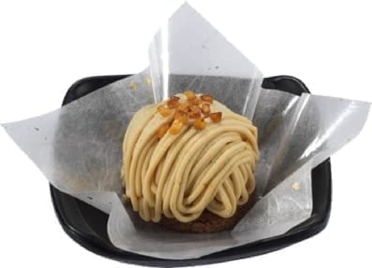 かっぱ寿司の「国産和栗のモンブラン」