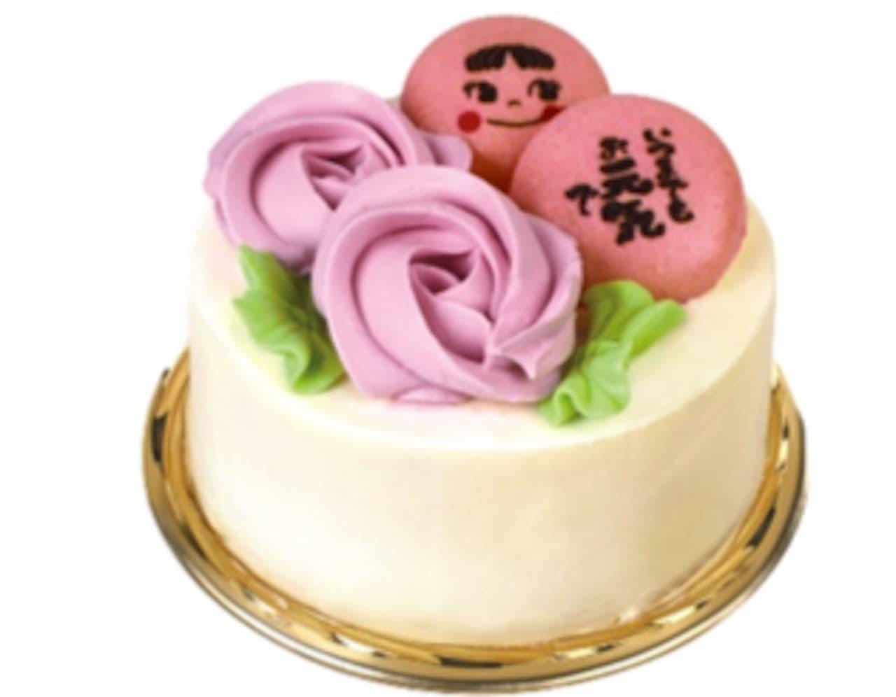 不二家「ペコちゃんミルキーバターケーキ」