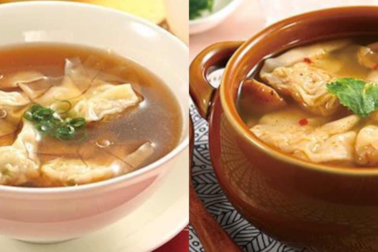 崎陽軒のワンタンスープ