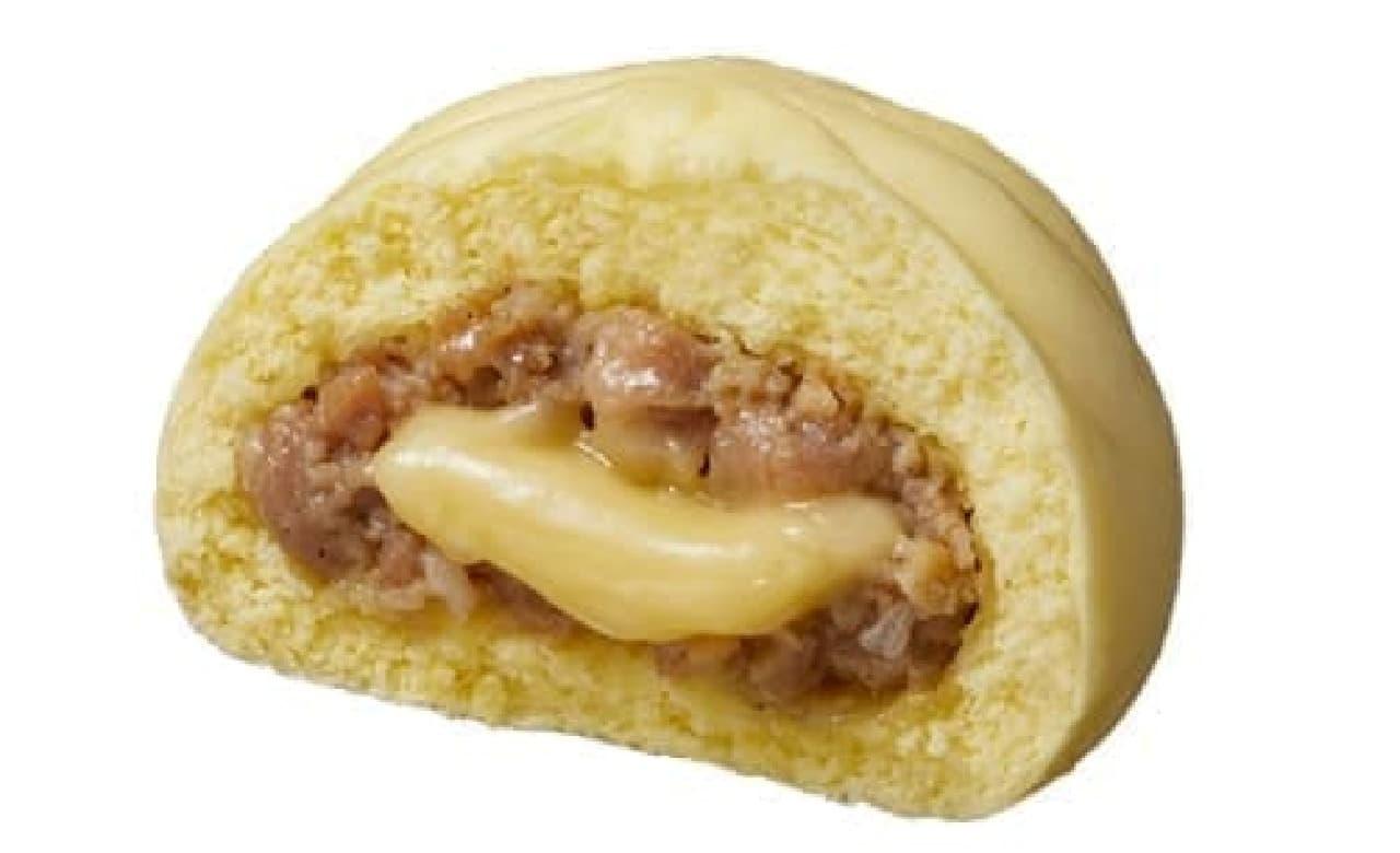 ローソン「チーズ肉まん」