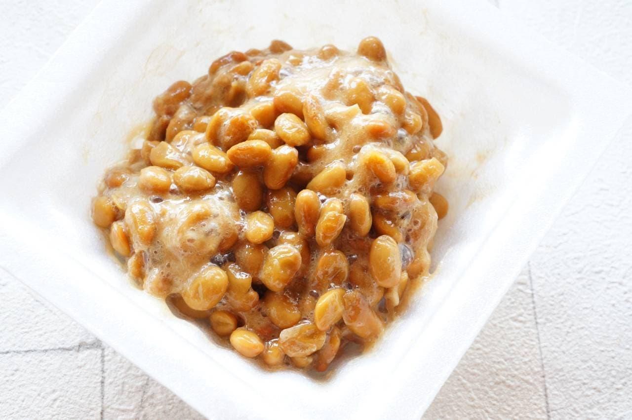 金のつぶ ご飯に合う濃厚生姜焼タレで食べる旨~い極小粒納豆