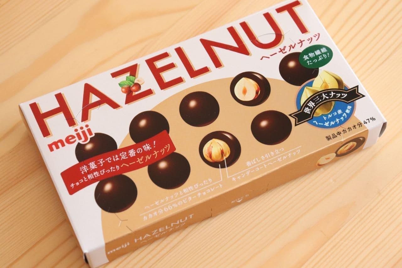 明治ヘーゼルナッツチョコレート