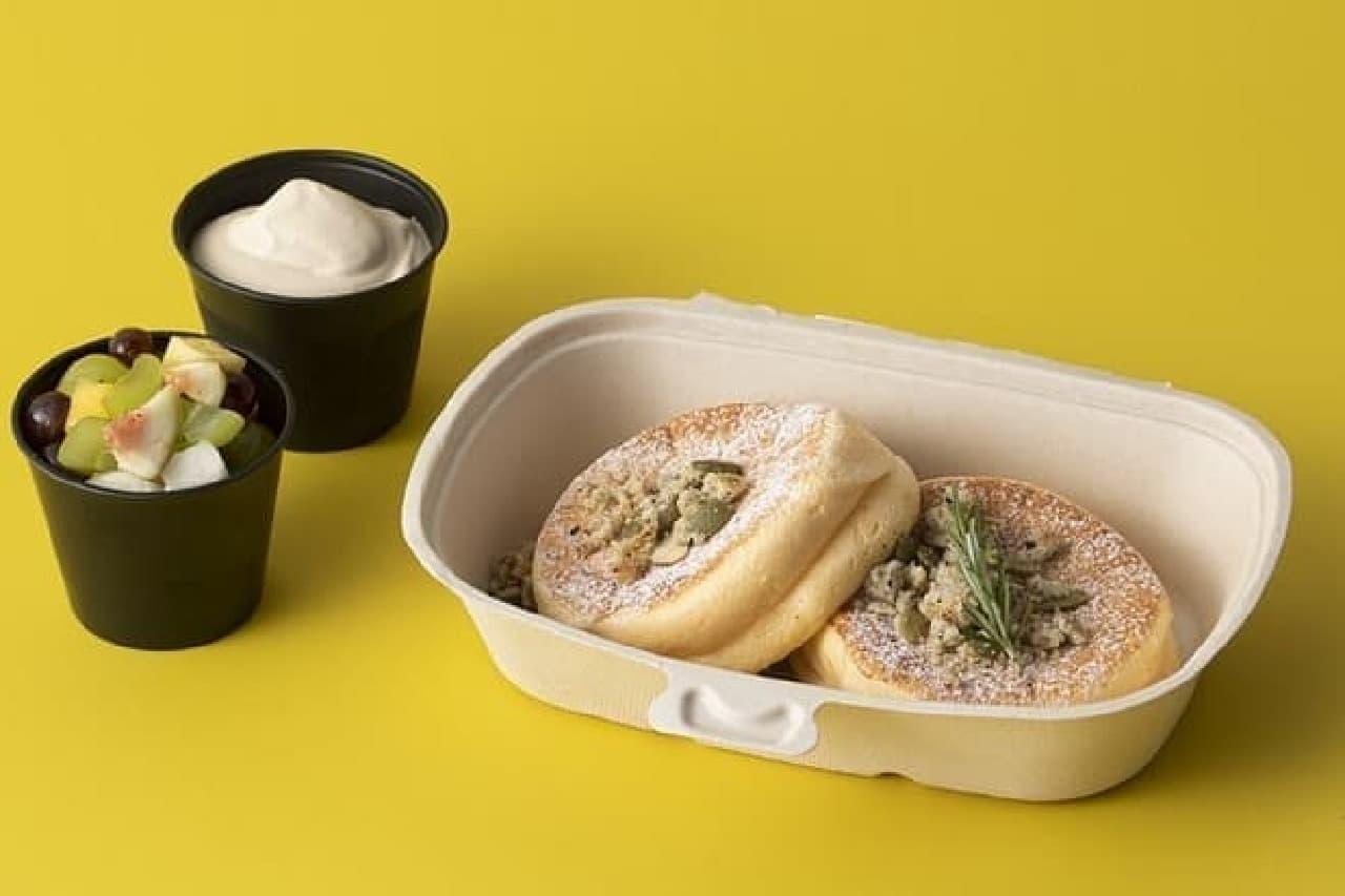 フリッパーズ「奇跡のパンケーキ オータムフルーツ&キャラメルミルクティー」