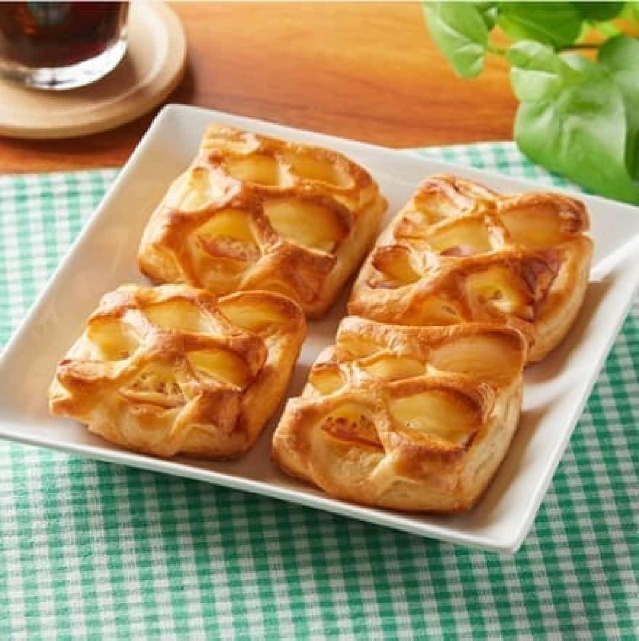 ファミリーマート「ハム&チーズデニッシュ4個入」