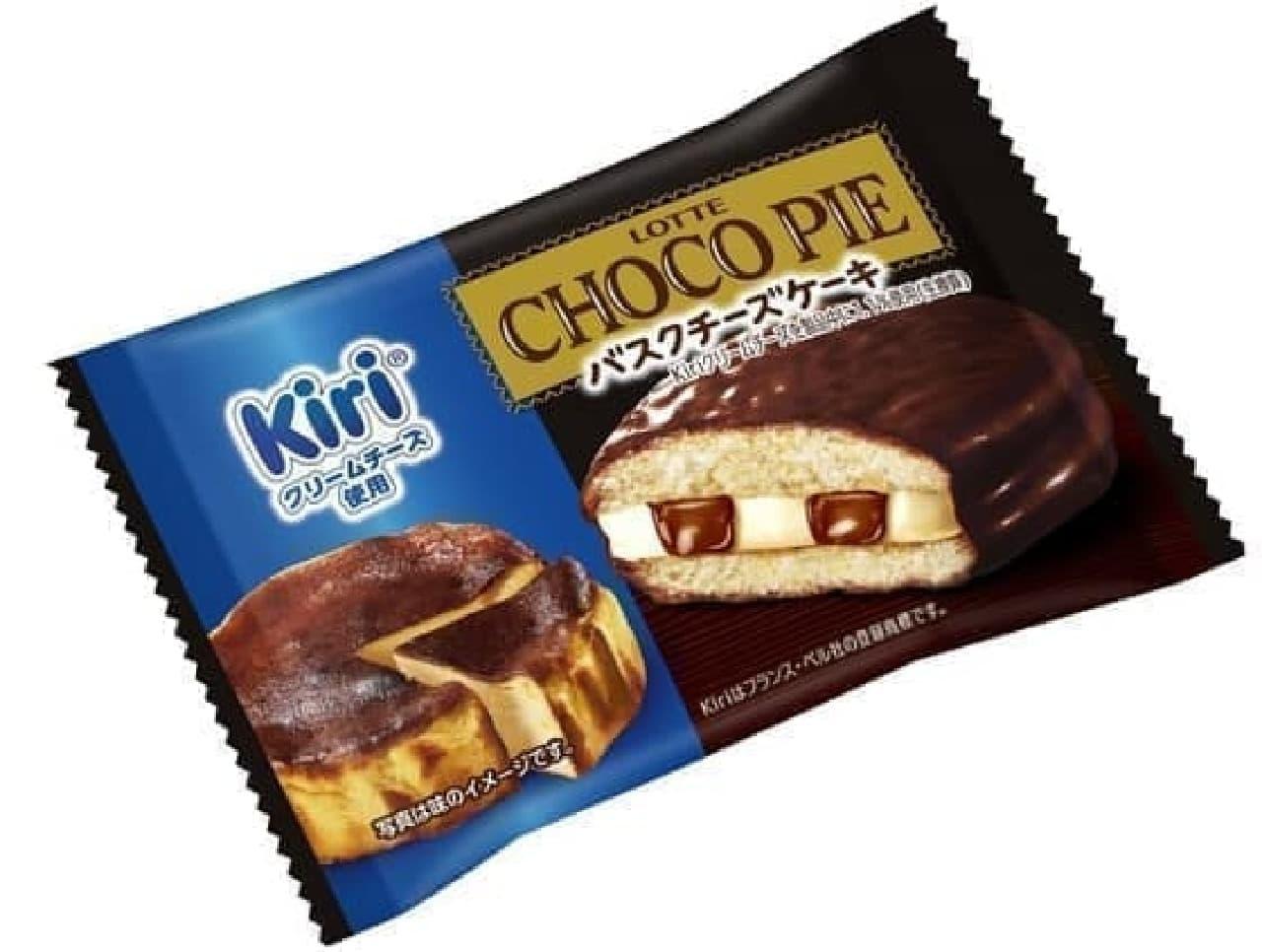 ロッテ「チョコパイ<バスクチーズケーキ>個売り」