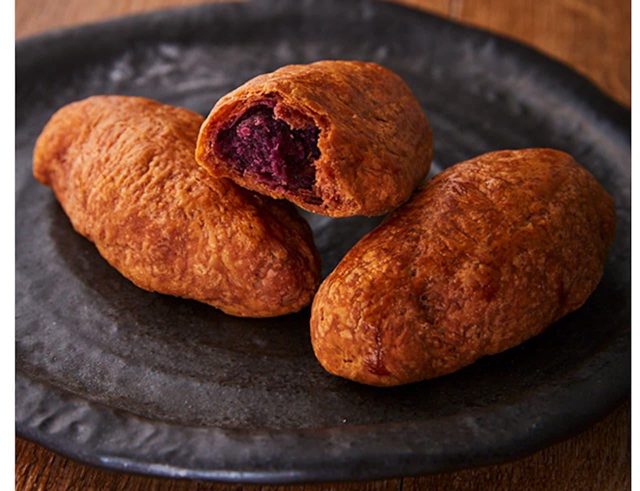 シャトレーゼ「焼き芋パイ 南九州産アヤ紫」