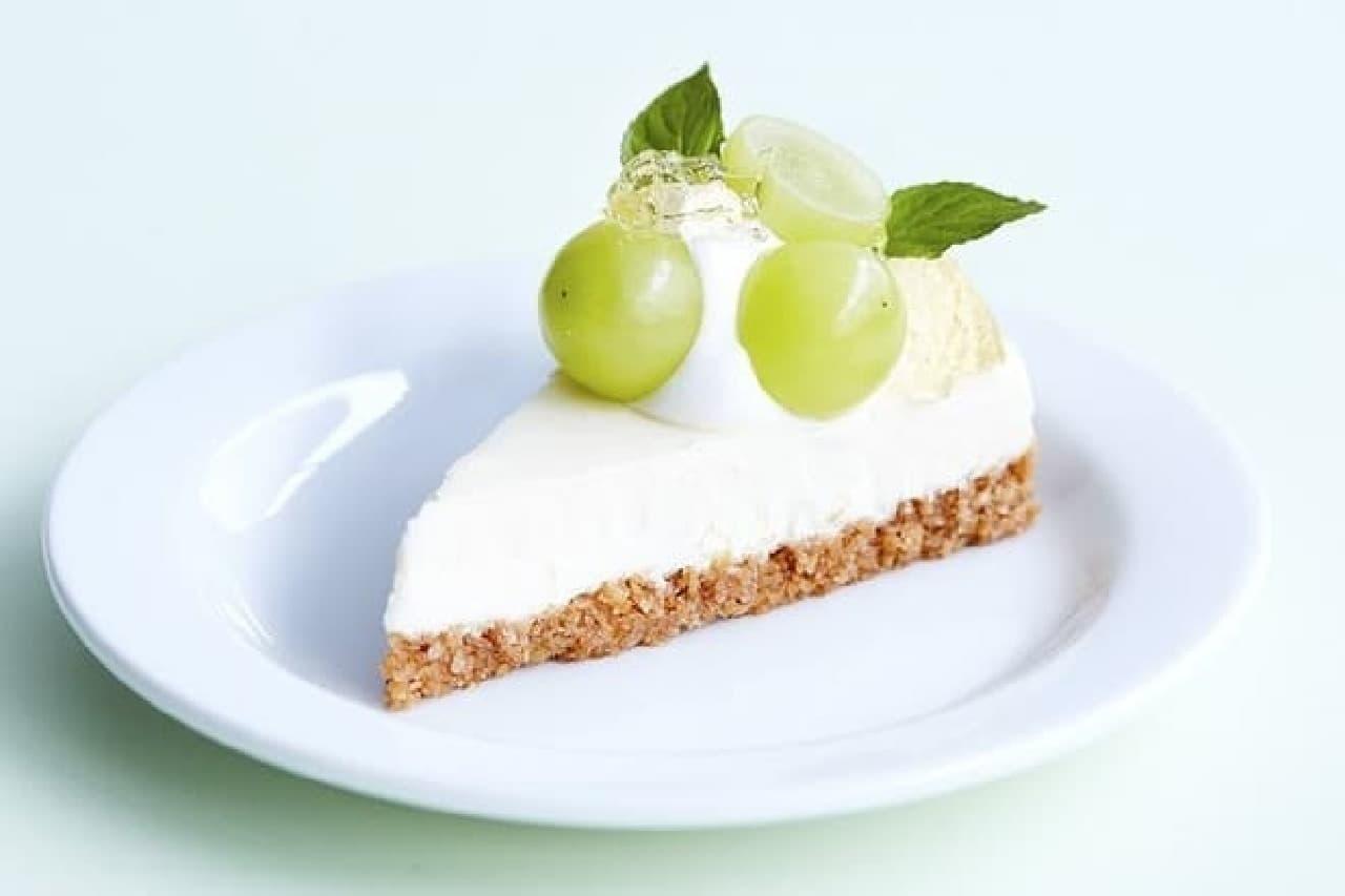 J.S パンケーキカフェ「シャインマスカットチーズケーキ」