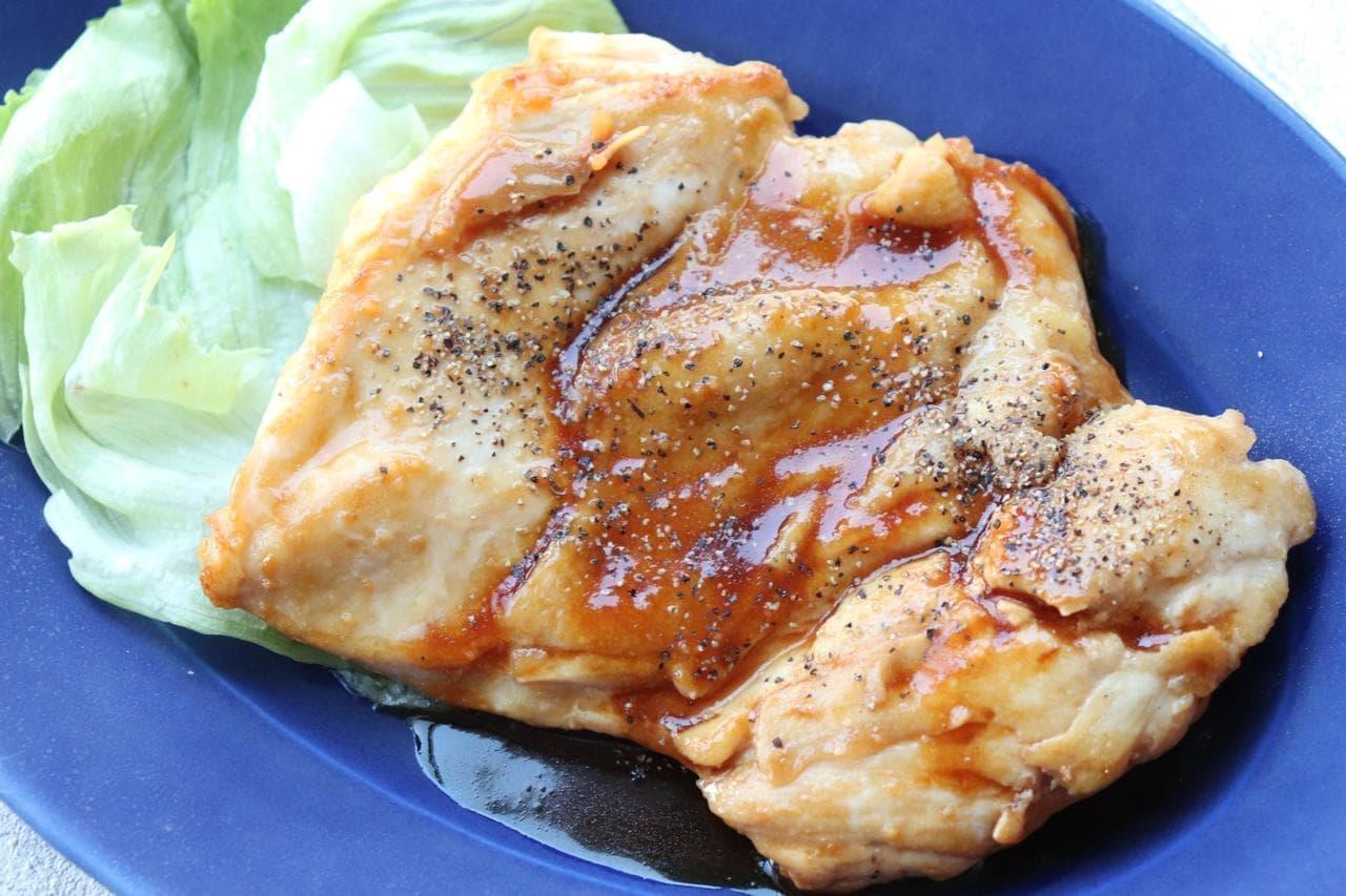 ガリバタ醤油レシピ
