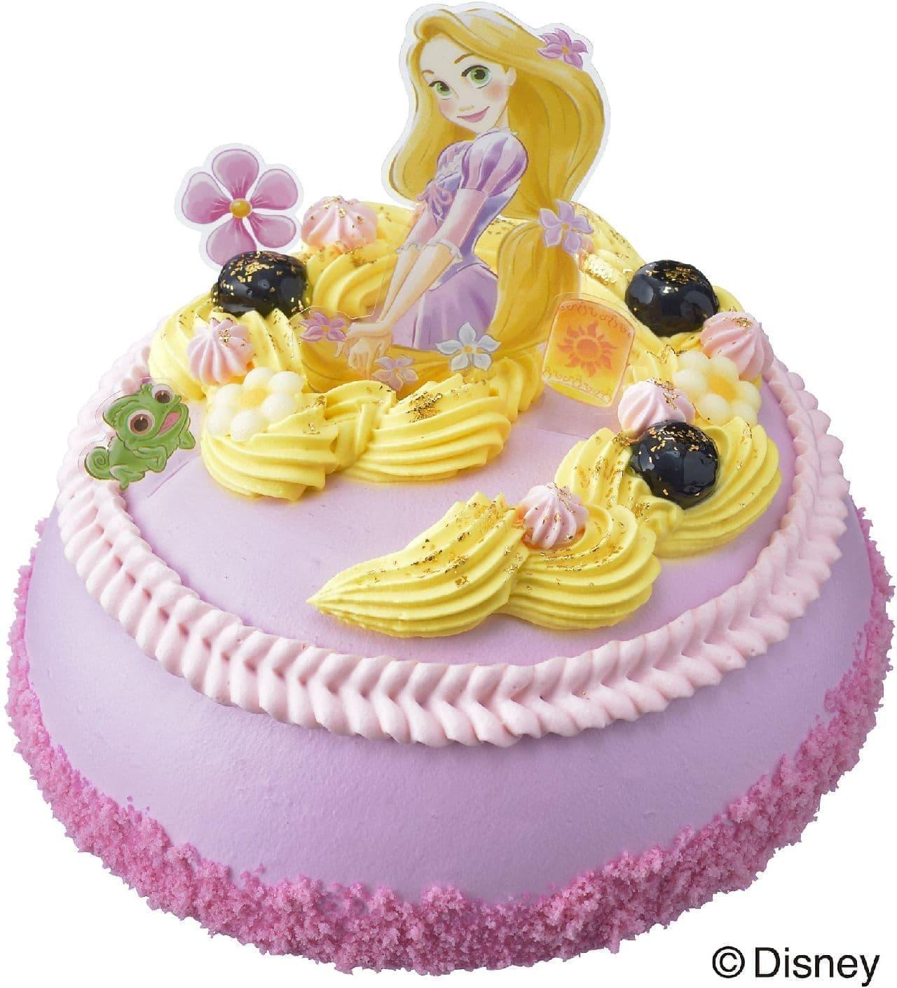 銀座コージーコーナー「ラプンツェル」のデコレーションケーキ