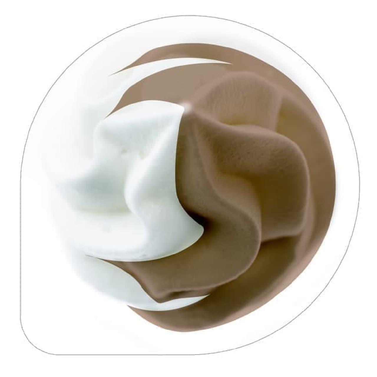 飲むソフトクリームチョコミックス