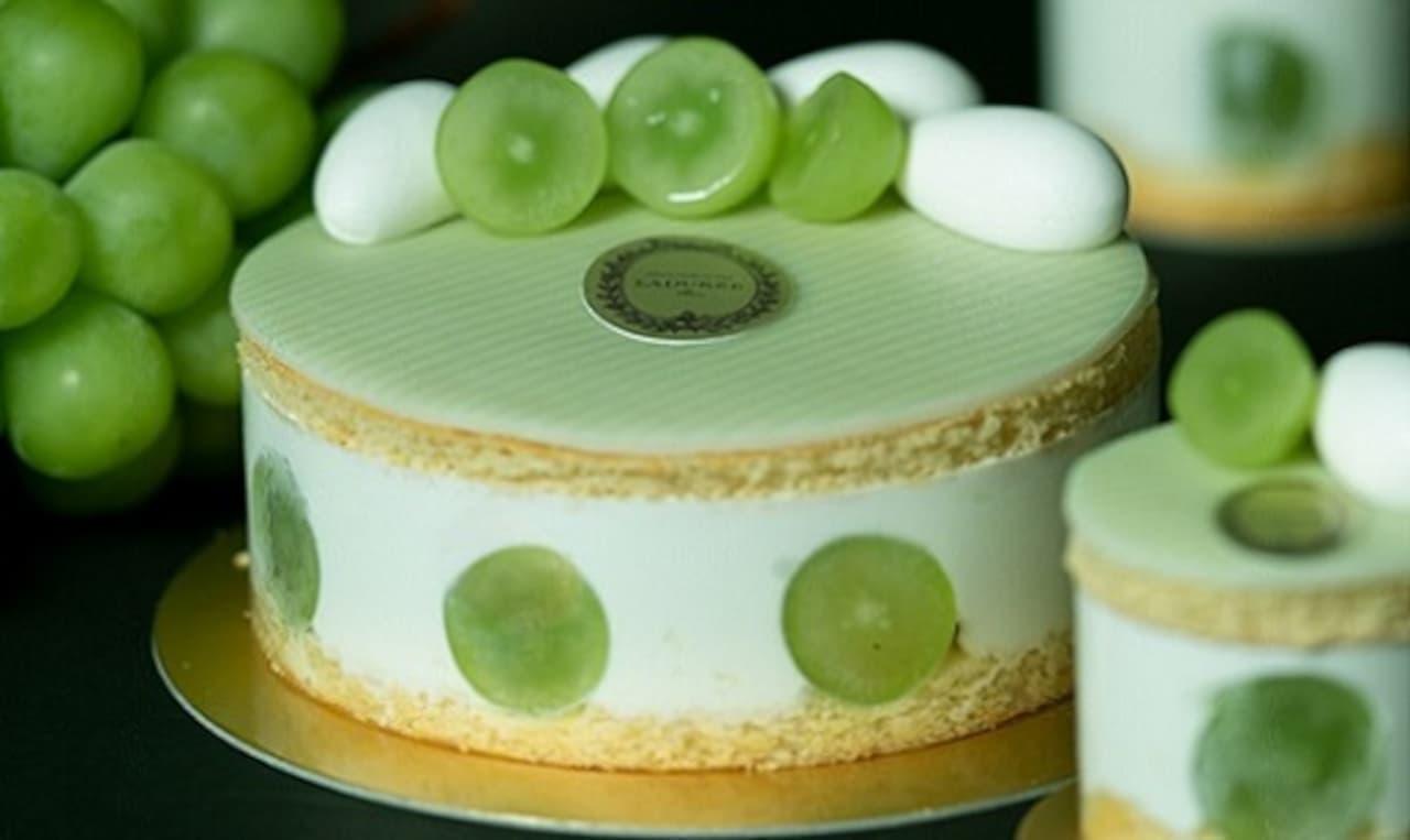 「ラデュレ」に初のショートケーキ