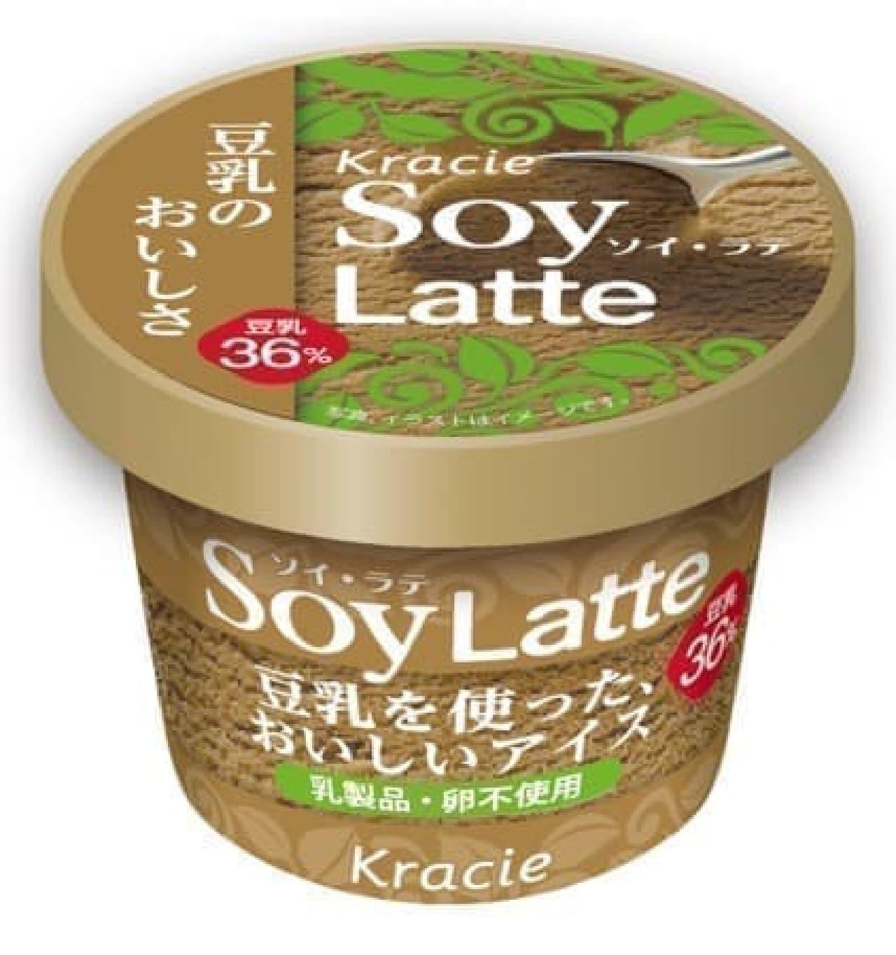 豆乳アイスレイトウファ、ソイラテ