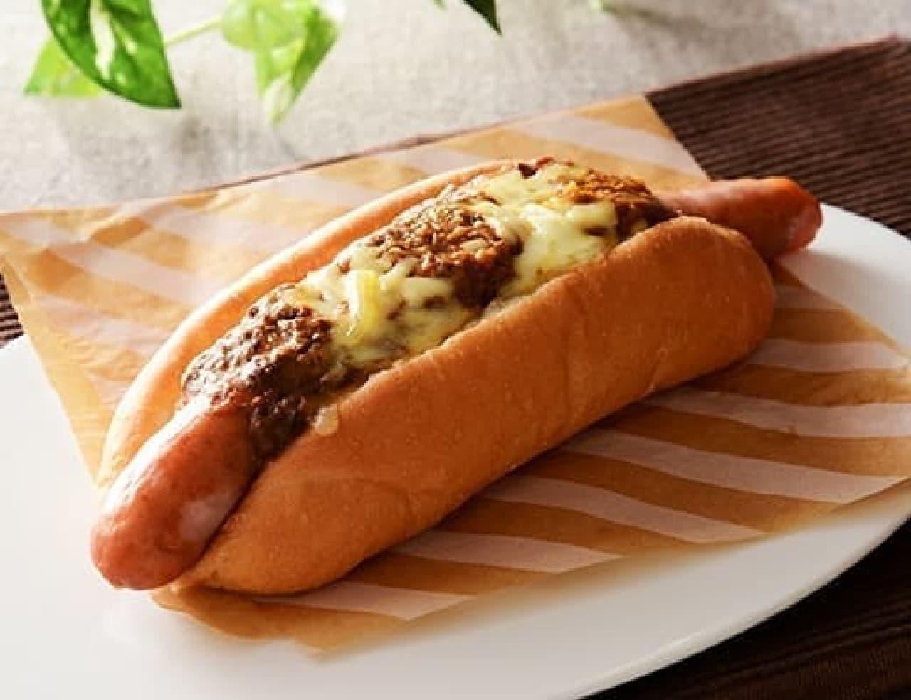ローソン「グーードッグ キーマ&チーズ」