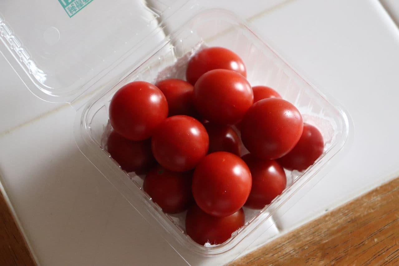 ミニトマト保存方法