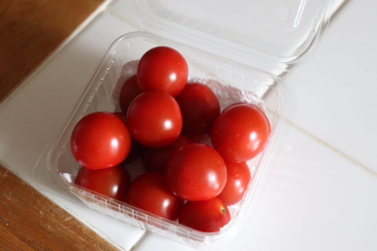 ミニトマトの保存方法