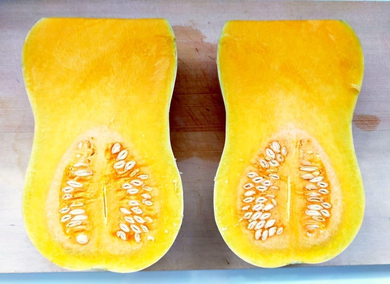 バターナッツかぼちゃのレシピ