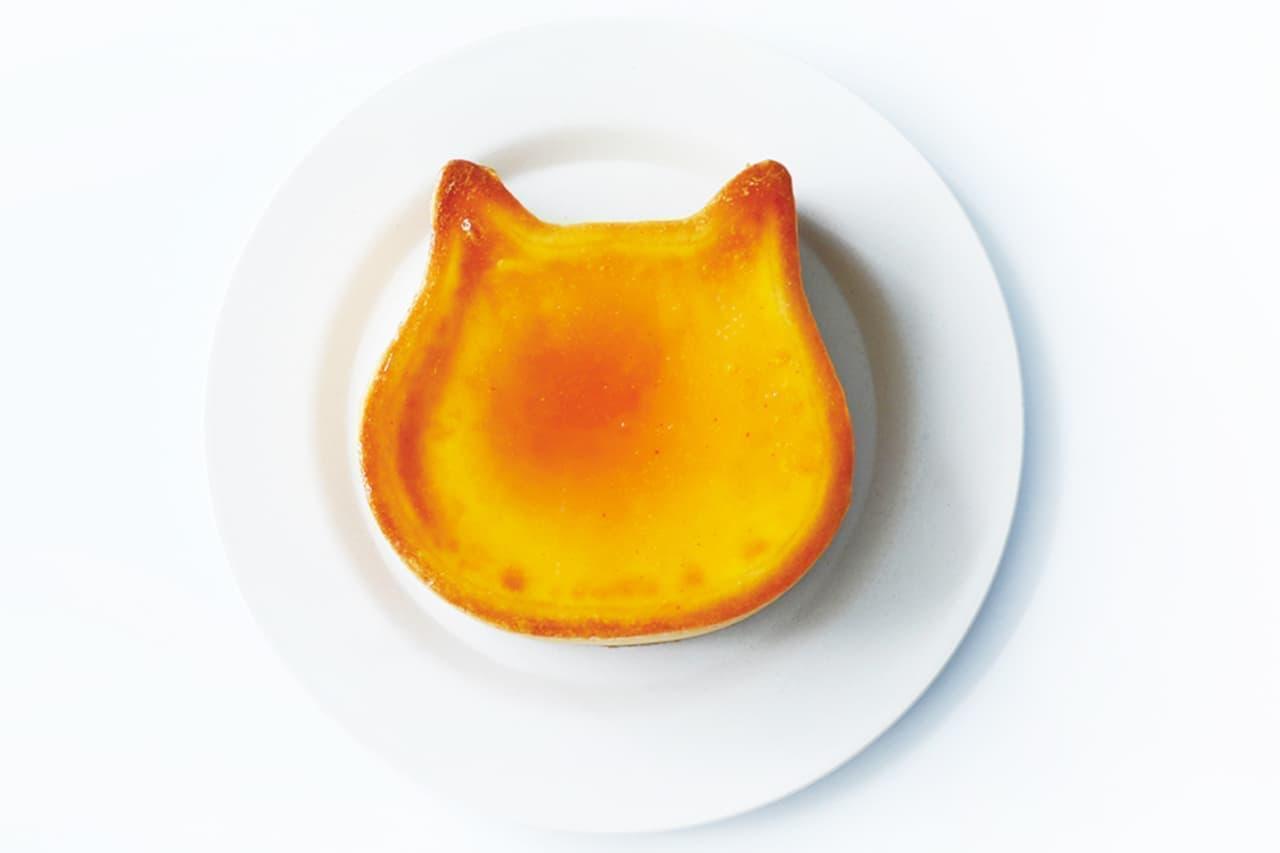 カラフルなジャムがのった「ちびねこチーズケーキ 4個アソート」