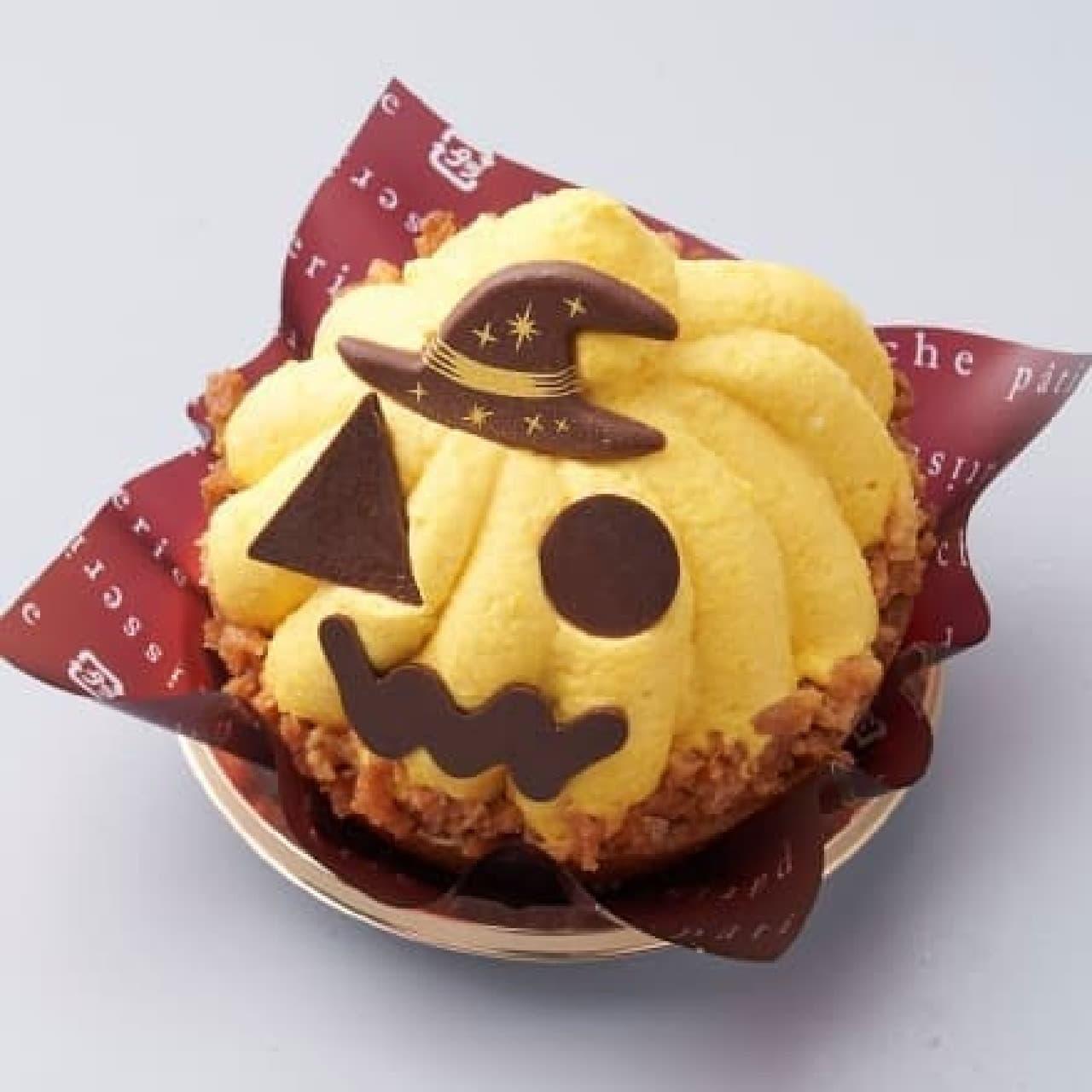 シャトレーゼ「ハロウィン おばケーキ」