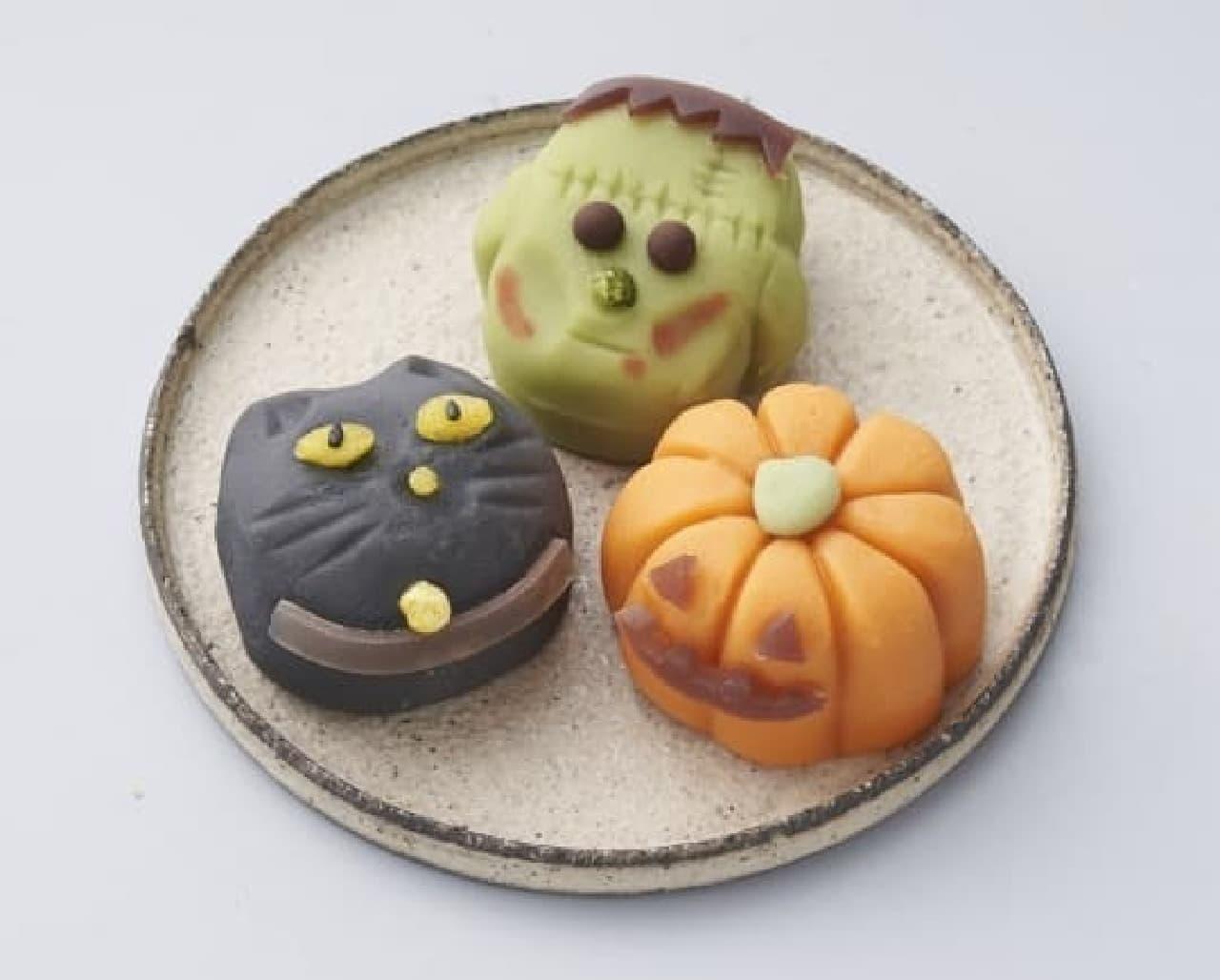 シャトレーゼ「ハロウィン創作和菓子」