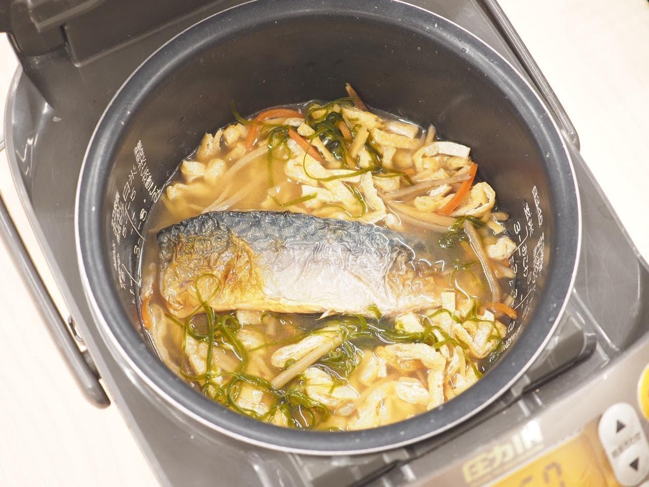 イトーヨーカドー「シェフズレシピ」の「炊き込みご飯の素(炙りさば)」