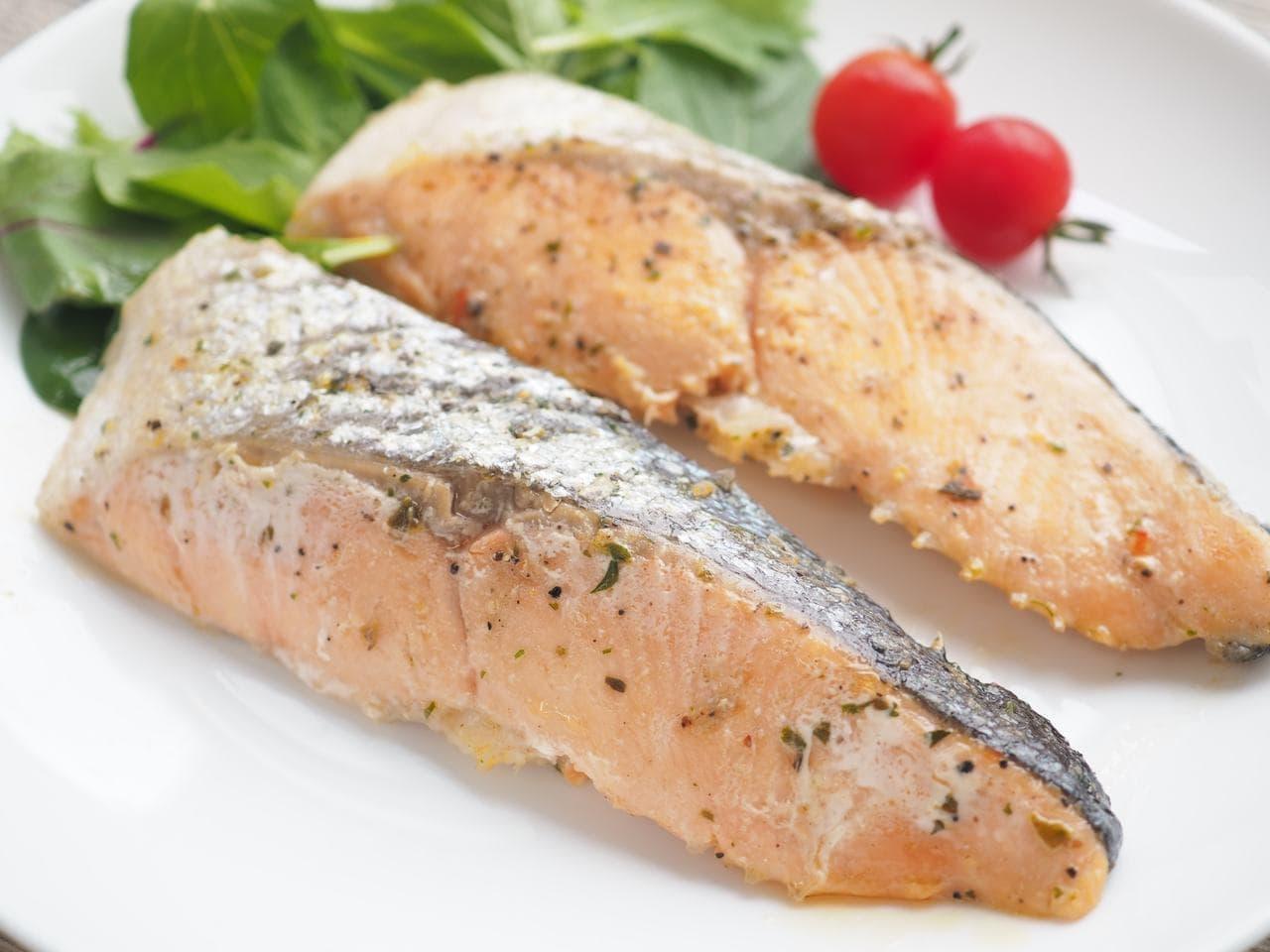 イトーヨーカドー「シェフズレシピ」の「銀鮭ステーキバジルソテー」