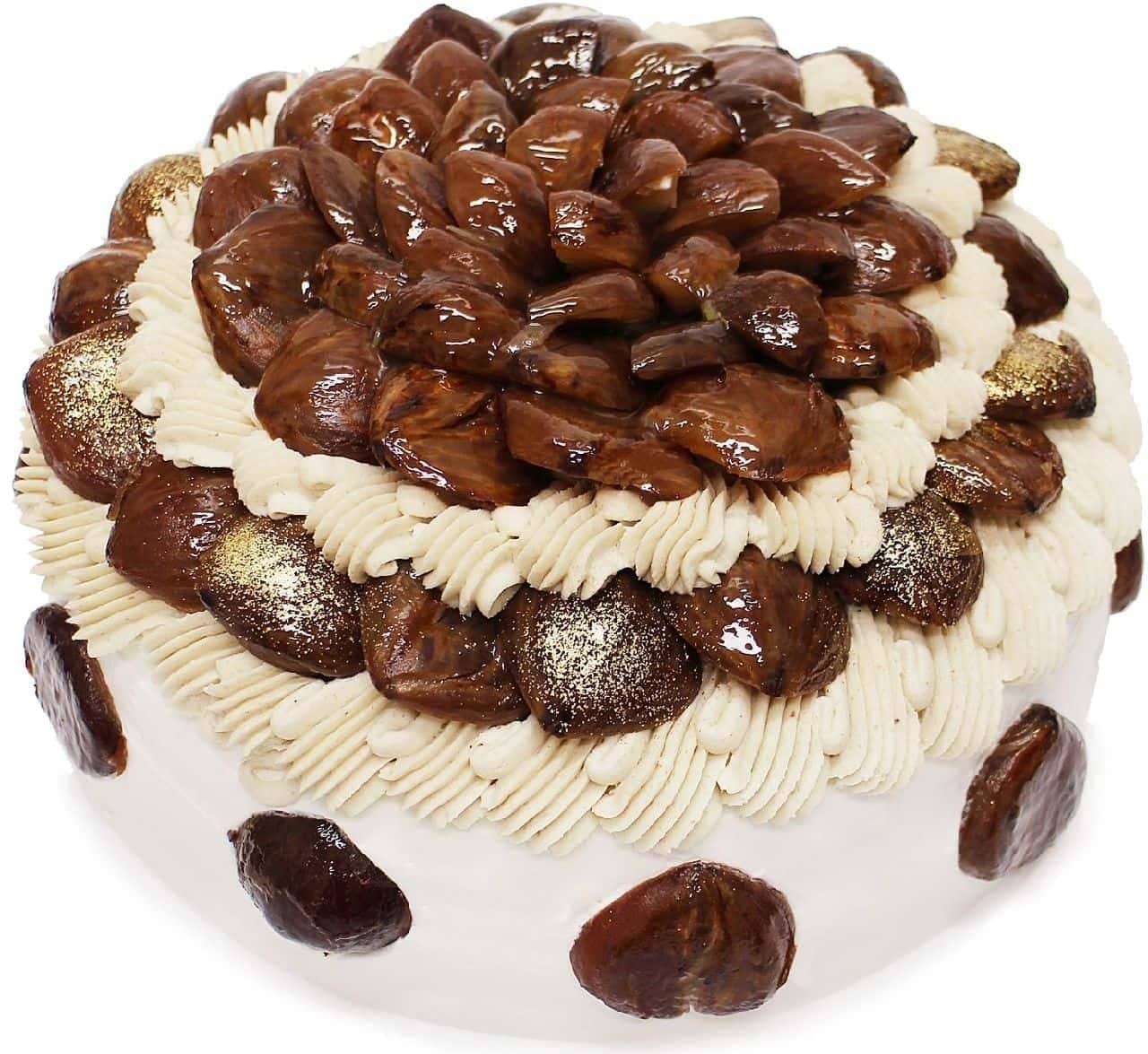 カフェコムサ「ショートケーキフェア」