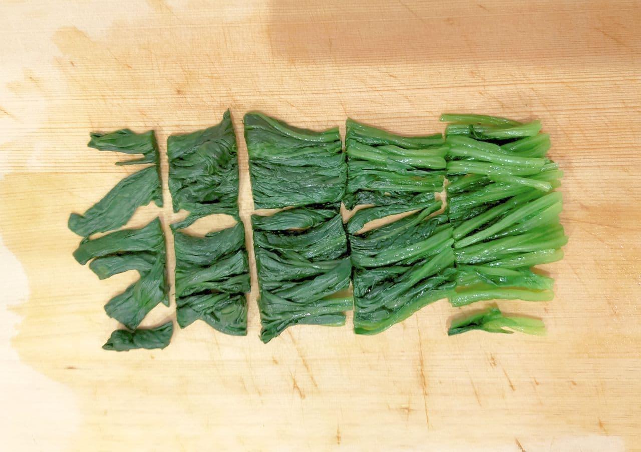 ほうれん草&小松菜の冷凍保存方法