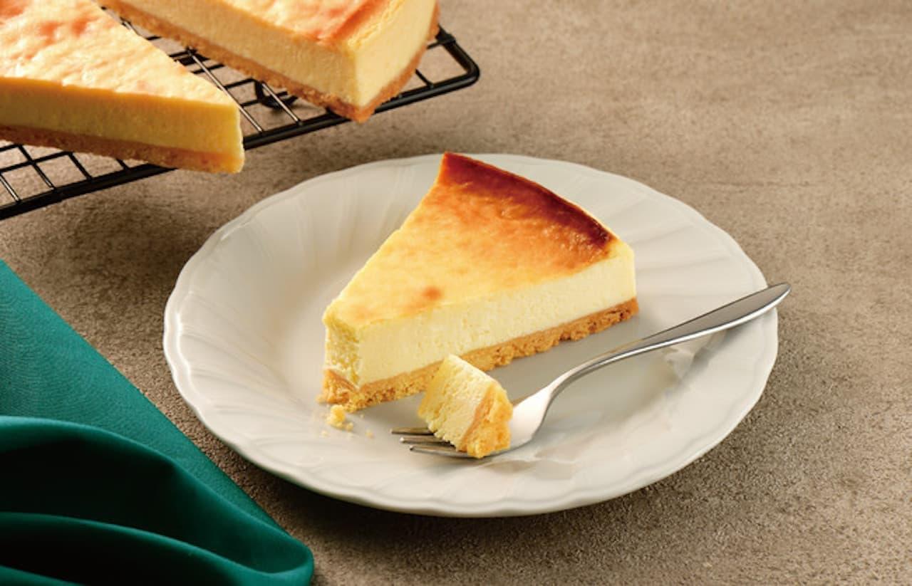 カフェ・ド・クリエ「ベイクドチーズケーキ」