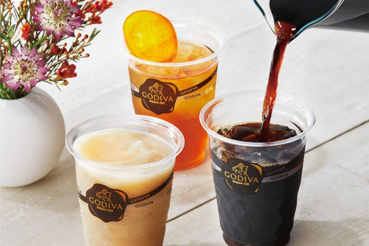 ゴディバの「アイスコーヒー」「アイスティー」
