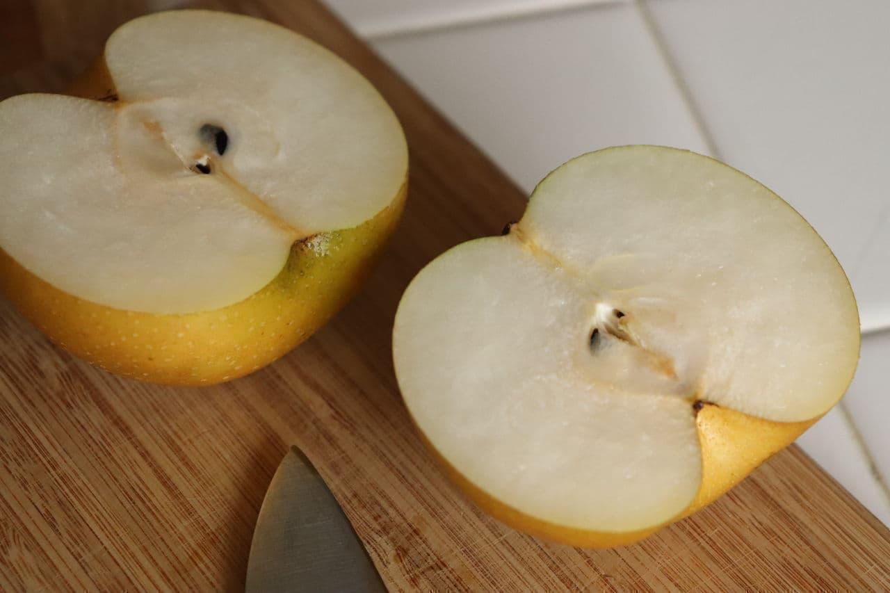梨の冷蔵庫保存方法