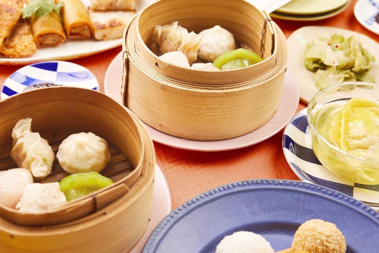 おうちで招福門!香港飲茶食べ放題セット